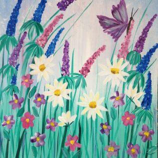 flower field_renee