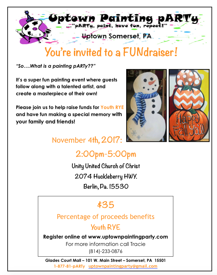 Nov 4th Unity Church