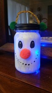 snowman jar2