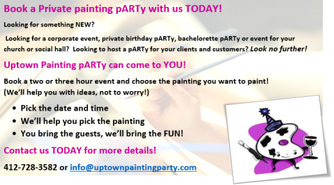 book a private party