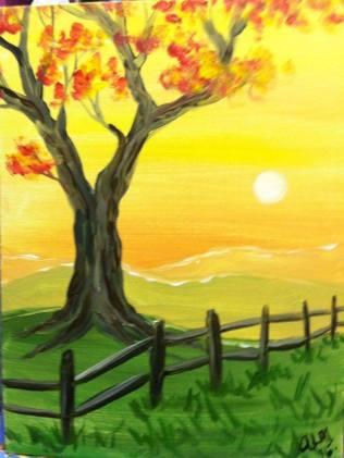 Anna Fall Tree