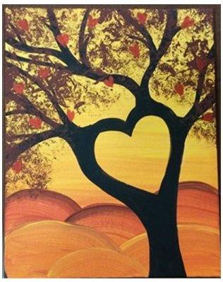 anna heart tree