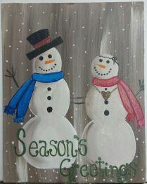 snow-couple