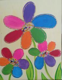 flowers gems