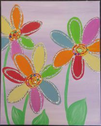 glitter flowers_Crystal