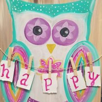 happy owl_kathy