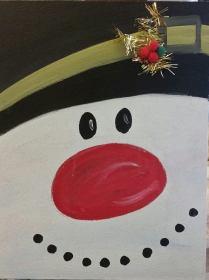 kiddo snowman