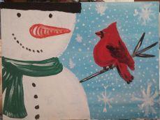 snowman-bird