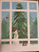 snowman-window